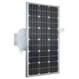 A instalação fácil 80W todo em uma luz de rua da potência solar