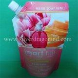 Мешок мешка печатание качества упаковывая раговорного жанра с Spout для сока