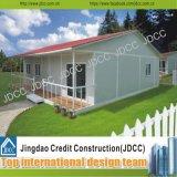 Casa de la casa prefabricada del panel de emparedado de la fibra de vidrio