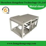 Fabricação de metal da folha com dobra para caixas