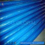 Rouleaux de tarp enrobés de bleu en différents poids et tailles