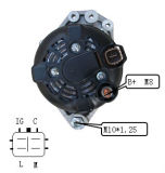 12V 100A Alternator para Denso Mini Um Lester 23941 1042103730