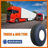 LKW-Gummireifen-Radialbus-Reifen-klassisches Muster mit Drei-Nut (12R22.5)