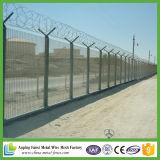軍隊のための有刺鉄線が付いている高い安全性358の塀の上