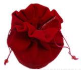 Sacchetti inferiori rotondi promozionali del velluto dei regali del Drawstring