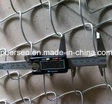 Chaud plongé frontière de sécurité galvanisée/PVC Cotaed