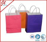 Bolsos lavables durables del almacenaje de la bolsa de papel de Hotsale Kraft