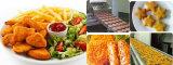 Машина Preduster продуктов моря цыплятины мяса большой емкости Flouring