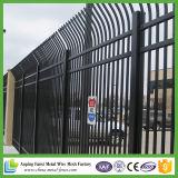 Entonces galvanizado pulverizar la cerca de acero prefabricada capa