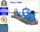 Torno horizontal resistente del CNC para el cilindro de torneado del eje de la turbina de la muela abrasiva (CG61300)