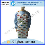 Disposable PE Apron with Logo Printing as Promotional Gift