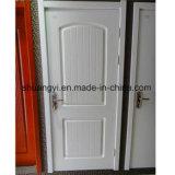 木製およびガラスドアが付いているPVCパネルMDFの内部ドア