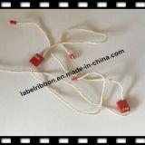Forma que pendura o fechamento plástico do Pin do tipo do vestuário do Tag/gravada (ST020)