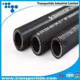 Manguera hidráulica de alambre de acero en espiral 4SP / 4SH Fabricante