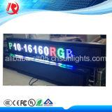 Afficheur LED P5 extérieur polychrome P10 de dessus de taxi de la puissance faible 2016
