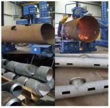 длина робота 10meters вырезывания CNC трубы диаметра 300mm портативная