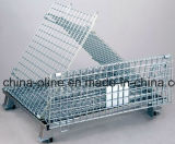Apilable Doblado de alambre de malla de la jaula de almacenamiento (1000 * 800 * 840)