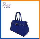濃紺PU袋デザイナーハンドバッグの女性のショルダー・バッグ