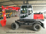 Excavadores de la nueva máquina roja eficiente del excavador de China pequeños para la venta