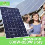 Hanwha una nuova tecnologia del comitato solare del grado con il buon prezzo poli 300-320W