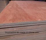 madera contrachapada de la chapa de 4.5mm/5.2mm/6m m Okoume para el mercado suramericano