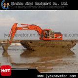 Amphibious Excavator Jyae-247를 가진 땅과 Water Dredging Excavator