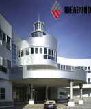 15year保証Ideabond PVDFナノ材質アルミ複合パネル