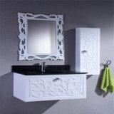 Оптовой установленный стеной белый шкаф PVC с зеркалом