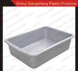 Carrello pratico di plastica dei prodotti del ristorante