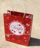 Modificar el bolso del regalo para requisitos particulares del papel del amor del amor de la impresión