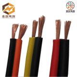 Cable de alambre eléctrico flexible aislado PVC de cobre de la base