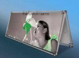 La publicité extérieure de publicité faite sur commande d'impression de Digitals de drapeau de vinyle de PVC/promotion/événement/Foire/exposition/drapeau juste de frontière de sécurité de maille d'étalage