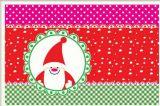 Циновка таблицы рождества декоративная симпатичная