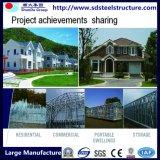 UL, SGS, BV аттестовал светлую виллу Prefab стальной структуры