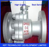 Form-Stahl API-6D flanschte Drehzapfen-Kugelventil