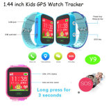 GPS que sigue el dispositivo vigilancia de la seguridad de los cabritos con la pantalla 1.44''colorful (Y9)
