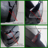 10-16.5 gomma del manzo di 12-16.5 pattini, gomma del camion, pneumatico solido del manzo di pattino
