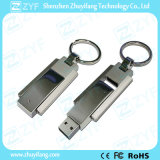 Top of degrees of Metal Swivel key chain USB Flash drive (ZYF1757)