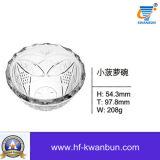 좋은 품질 창조적인 유리 그릇 유리 그릇 킬로 비트 Hn0189