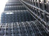 Polypropyleen Geogrids Plastic Geogrid met grote trekspanning van de Koppeling van de Sterkte het Tweeassige