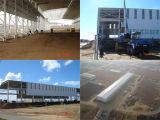 Het Ontwerp van de Gebouwen van het staal & de Ingenieurs Geprefabriceerde Gebouwen van het Metaal