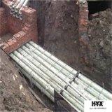 Buen tubo resistente químico de la cubierta de cable de FRP en agua o agua de mar de lluvia