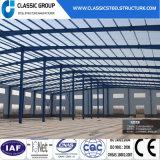 Almacén ligero prefabricado del edificio de la estructura de acero