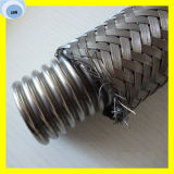 A alta qualidade flexível corruga a tubulação do metal