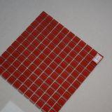Плитка мозаики кристаллический стекла высокого качества красная для сбывания