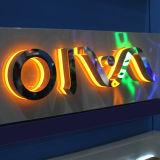 Acrylic освещает вверх света алфавита письма шатёр знака СИД с английскими письмами