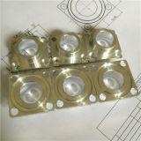 Peças de giro do CNC da flange de alumínio
