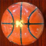 Baloncesto barato de Desgastar-Resistencia modificado para requisitos particulares baloncesto de la PU de la calidad 8pieces 4#5#6#7# Aurora5123-3