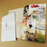 品質カタログの印刷の本の印刷紙の背部ハードカバー