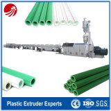 ligne composée de machine d'extrusion de tube de pipe de fibre de verre de 1.6MPa PPR